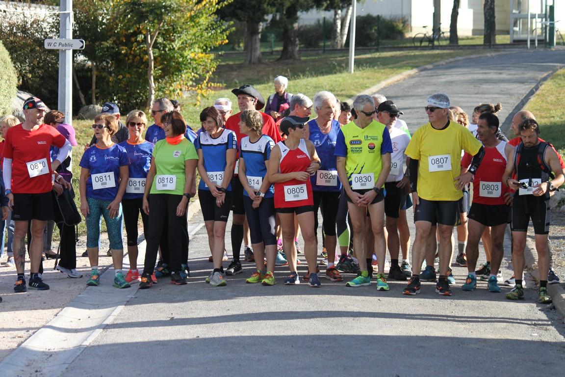 Départ 10km Marche Athlétique